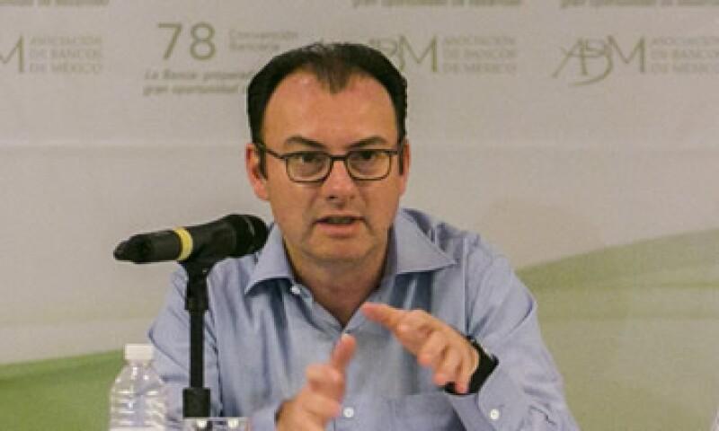 El secretario de Hacienda, Luis Videgaray, reiteró su disposición a ser investigado por caso Higa. (Foto: Cuartoscuro)