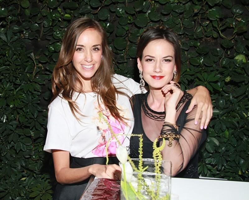 La actriz y la experta en moda encantaron con sus estilos en el lanzamiento de la colección  de joyería Primavera-Verano 2015 de Michael Kors.