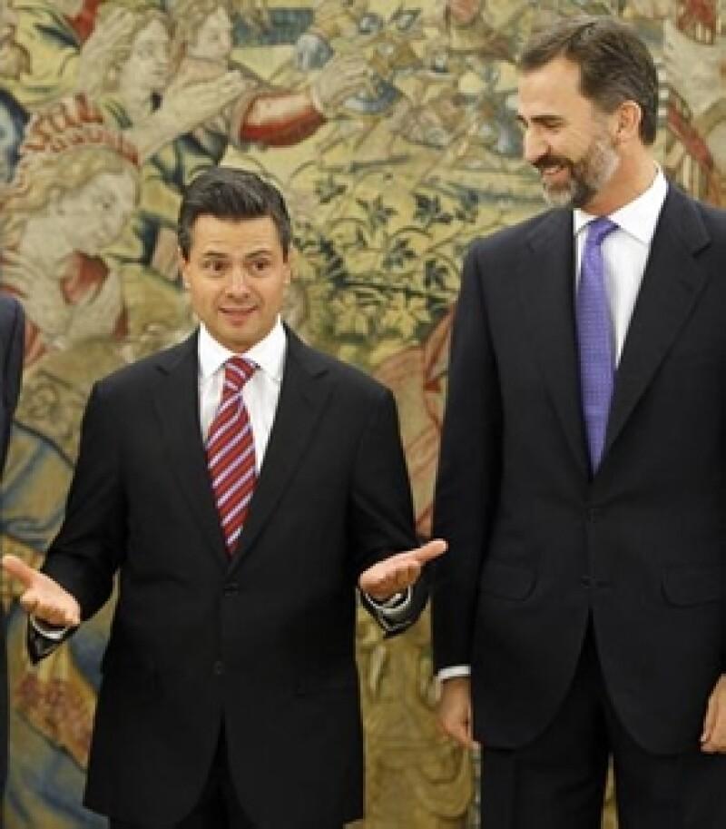El Consejo de Ministros del gobierno español aprobó que fuera el heredero al trono de la corona de España quien acuda a San Lázaro este 1 de diciembre.