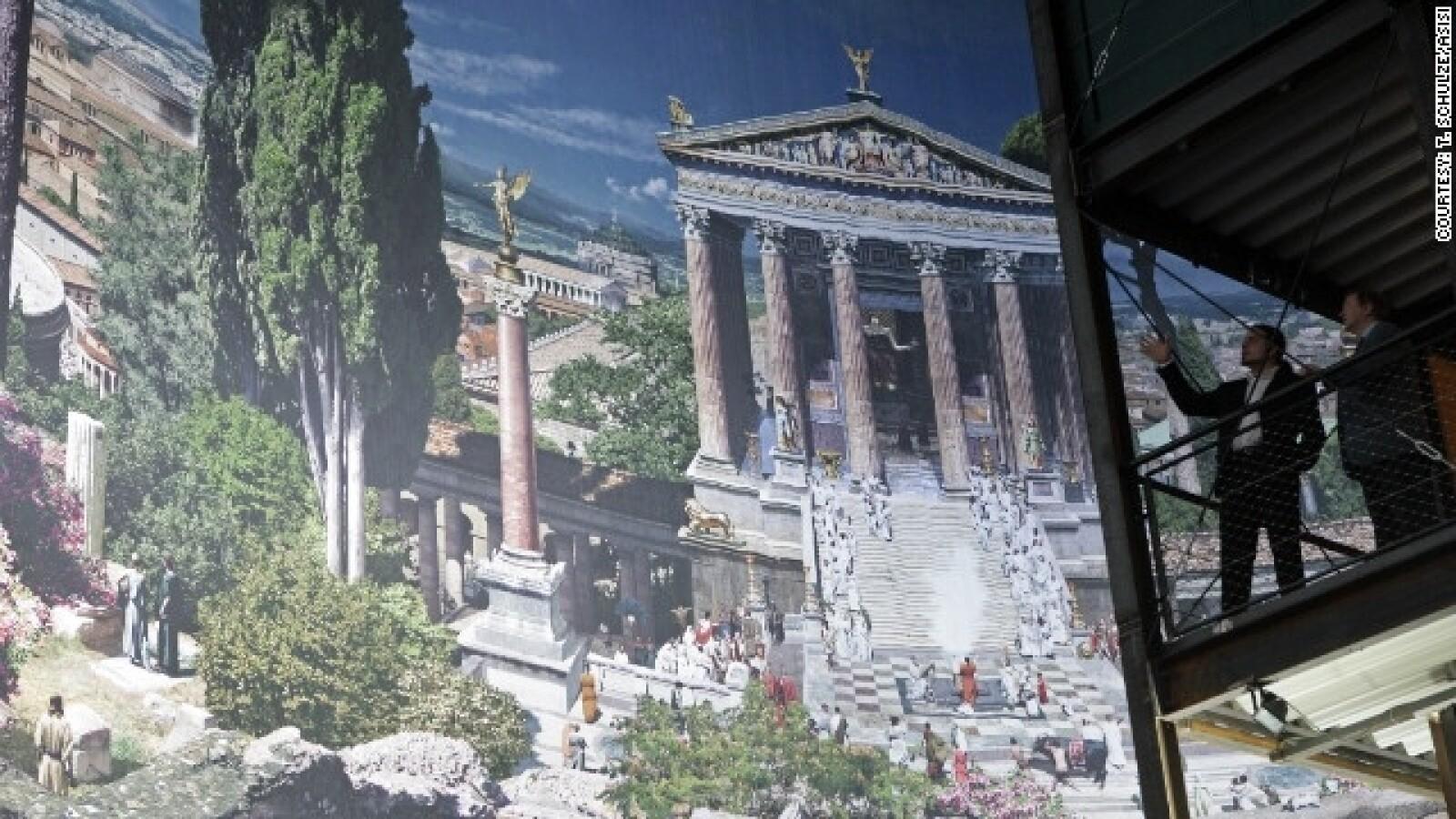 alemania roma arte antiguo panoramica arte ciudad paisaje