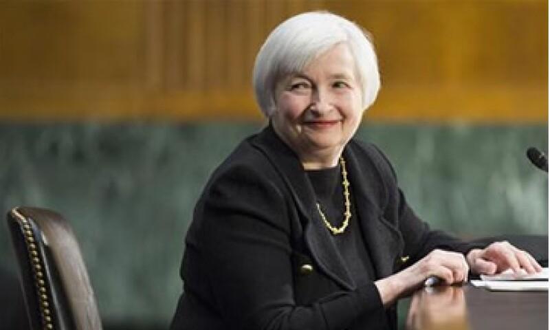 Janet Yellen dijo que el Banco Central seguirá reduciendo su estímulo monetario. (Foto: Reuters)