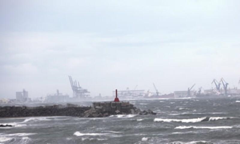 Los puertos cerrados son los de Cayo Arcas, Dos Bocas y Coatzacoalcos. (Foto: Notimex)