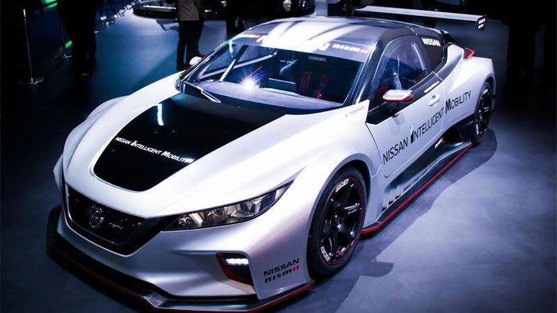 Nissan LEAF CES 2019