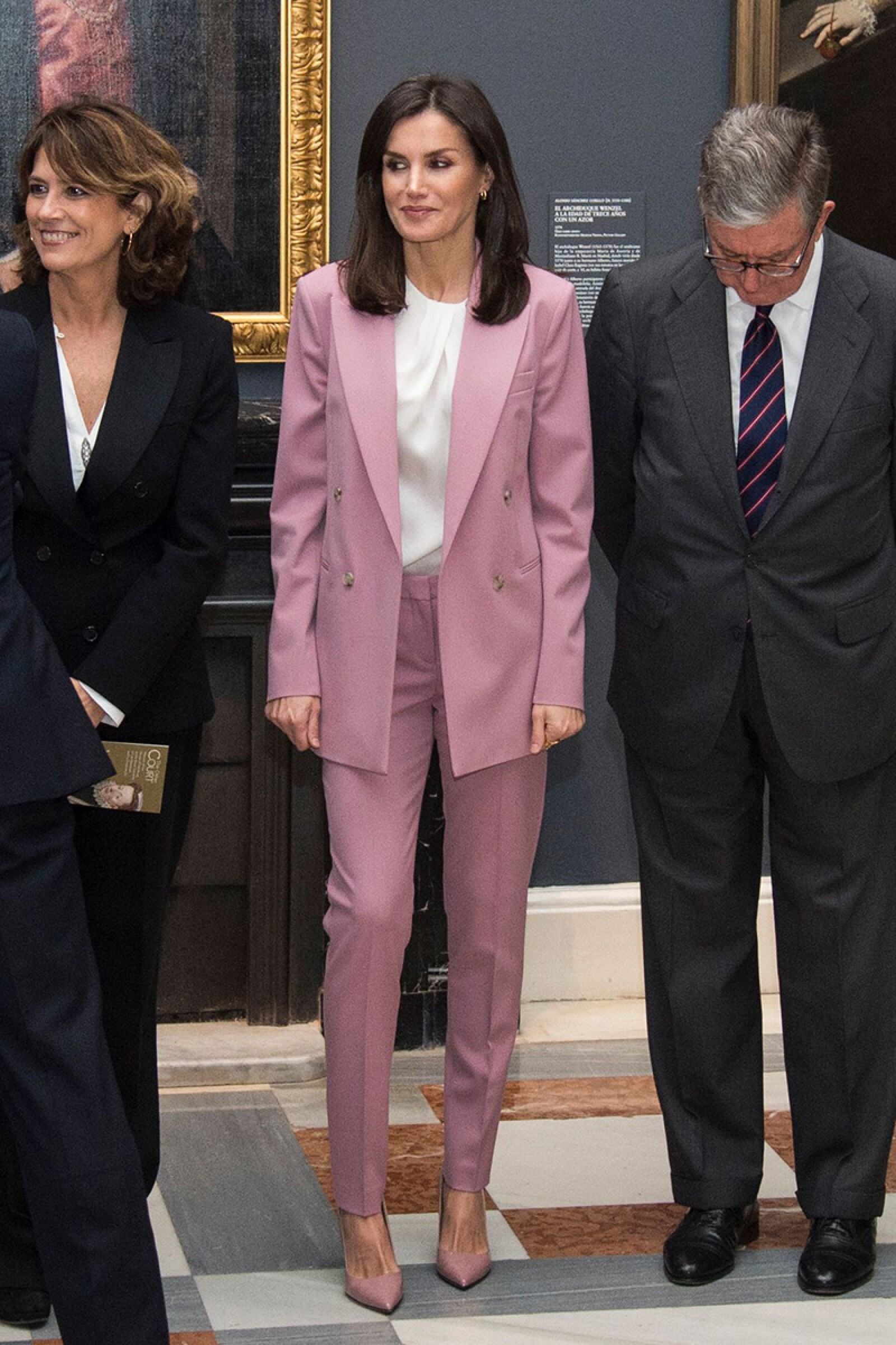 Queen Letizia visits an exhibition at the Royal Palace, Madrid, Spain - 17 Dec 2019