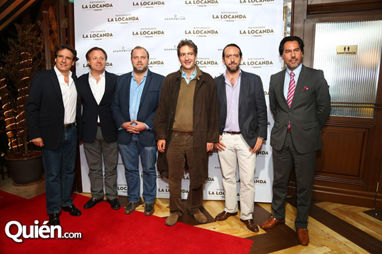 Pedro Roca,Felipe Williamson,Aurelien Julou,Jerónimo Enríquez,Rogelio Enríquez y Ernesto Martínez