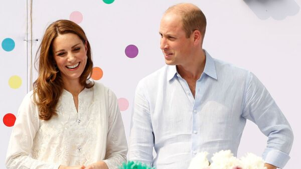 Kate Middleton y el príncipe William.