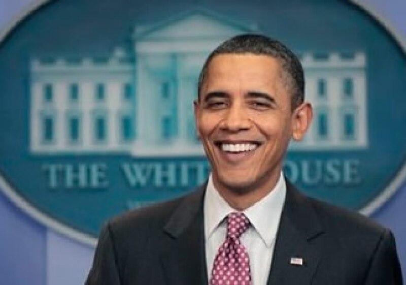 Barack Obama se muestra optimista por las negociaciones legislativas que deberá hacer con los republicanos. (Foto: AP)