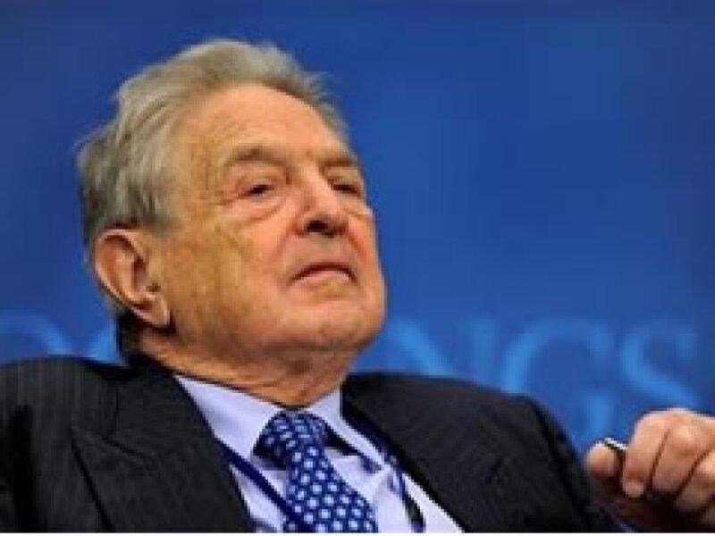 El inversor George Soros dijo que los CDS podrían someter a las instituciones financieras. (Foto: Reuters)