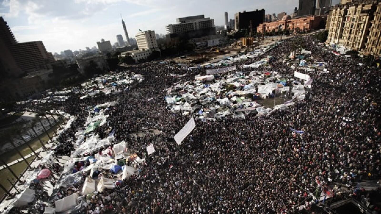egipto protestas renuncia mubarak