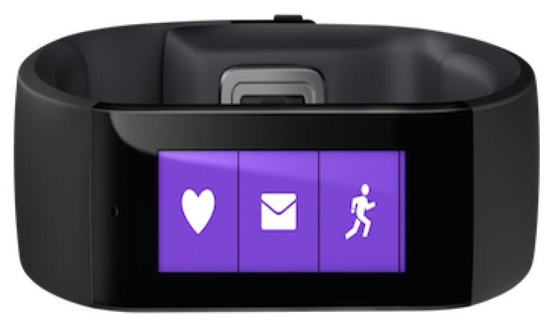 El brazalete de Microsoft mide frecuencia cardiaca, respuesta electrodermal y patrones de sueño (Foto: Cortesía Microsoft)
