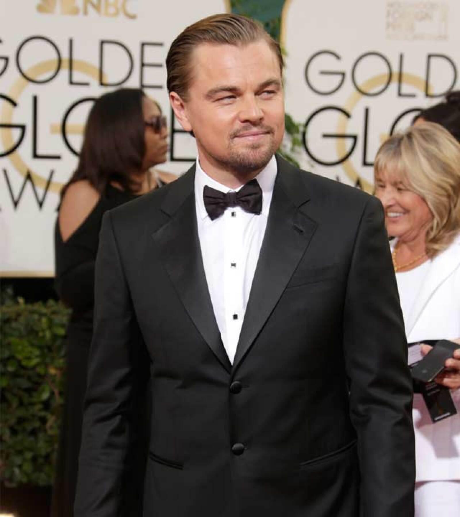 """Su papel en """"El Lobo de Wall Street"""" le valió un Globo de Oro a Mejor Actor este año."""