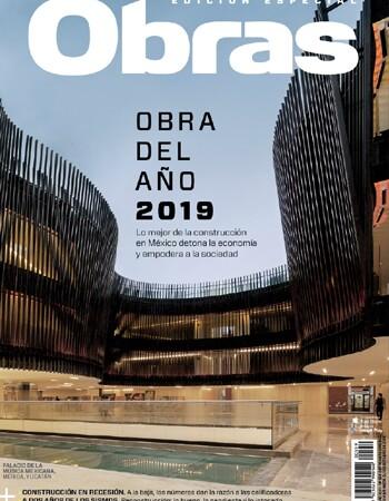 portada Obra del Año 2019 magzter