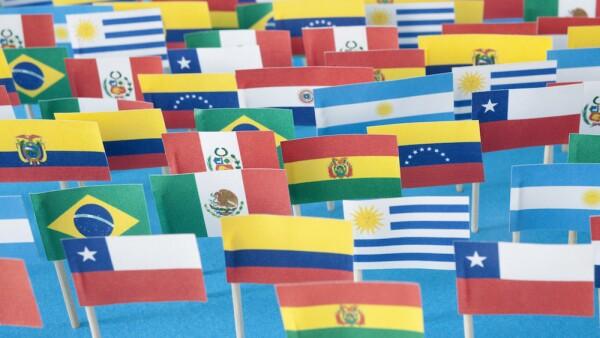 Banderas de América Latina - banderas latinaomericanas