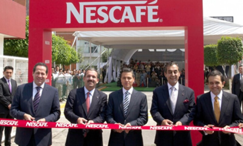 Nestlé dijo que su inversión muestra la confianza que hay en México. (Foto: tomada de presidencia.gob.mx)
