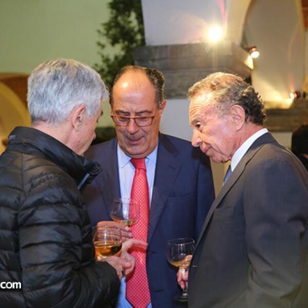 Adolfo Lagos, Carlos Ruiz y Guillermo Ortiz
