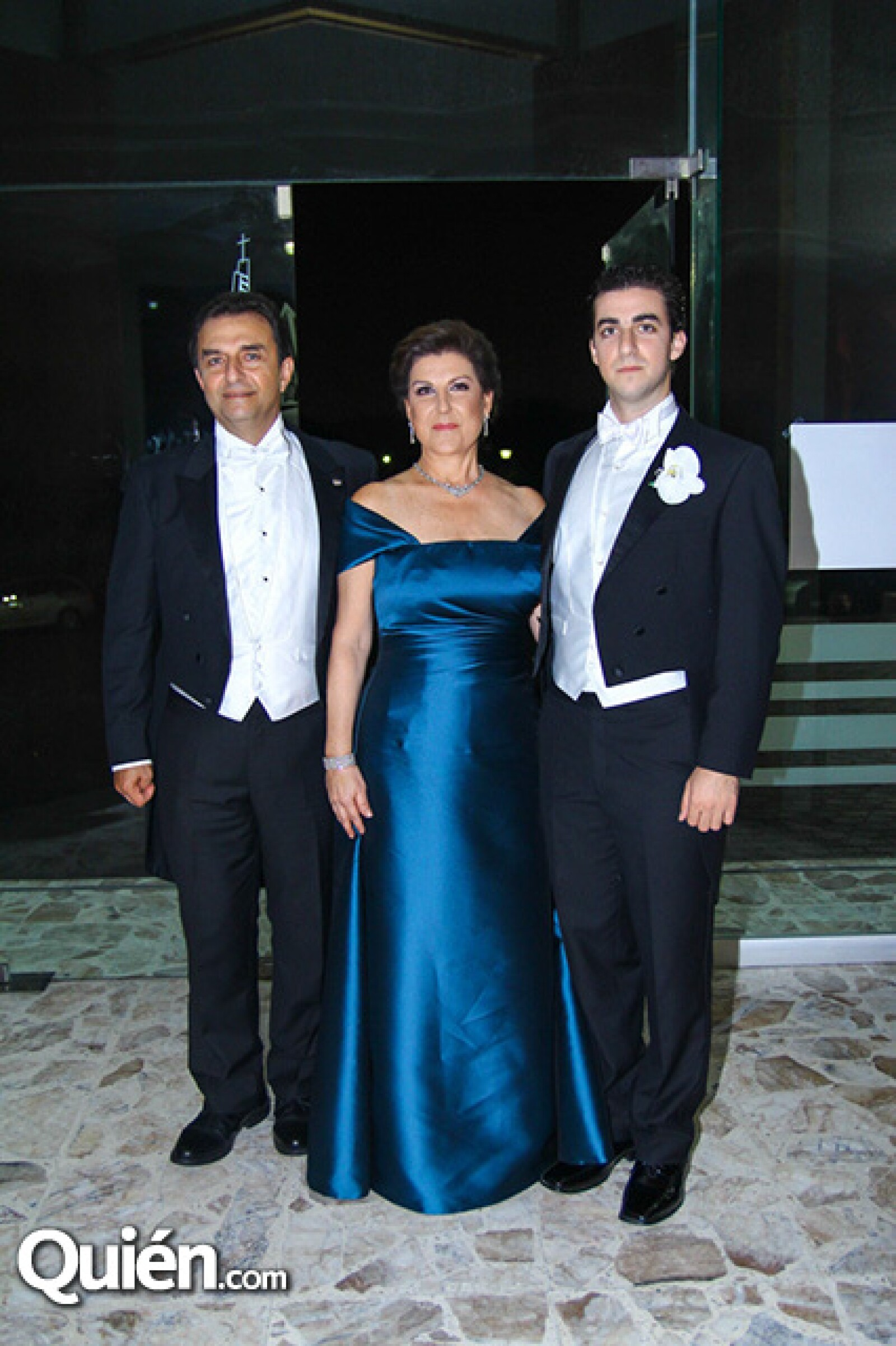 Eduardo Esper,María Eugenia Ferrigno de Esper y Juan Pablo Esper