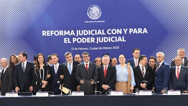 la scjn presenta reforma al poder judicial