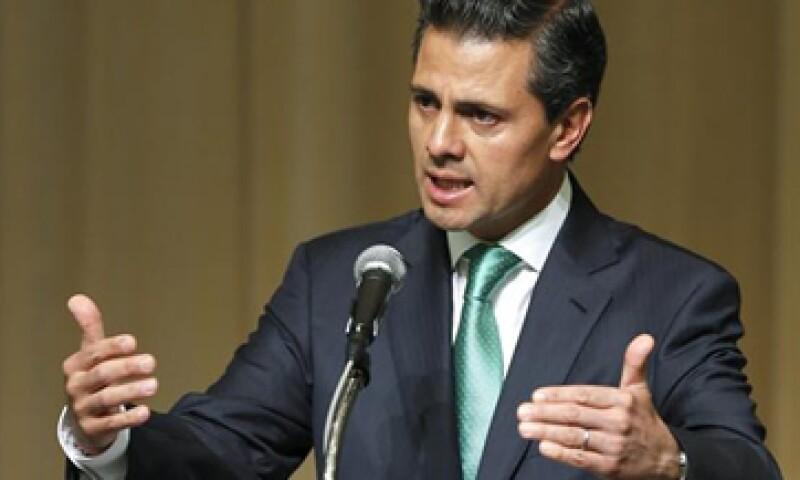 El presidente Enrique Peña Nieto espera que la economía mexicana se expanda más del rango entre 3 y 4% que esperan los analistas. (Foto: EFE)