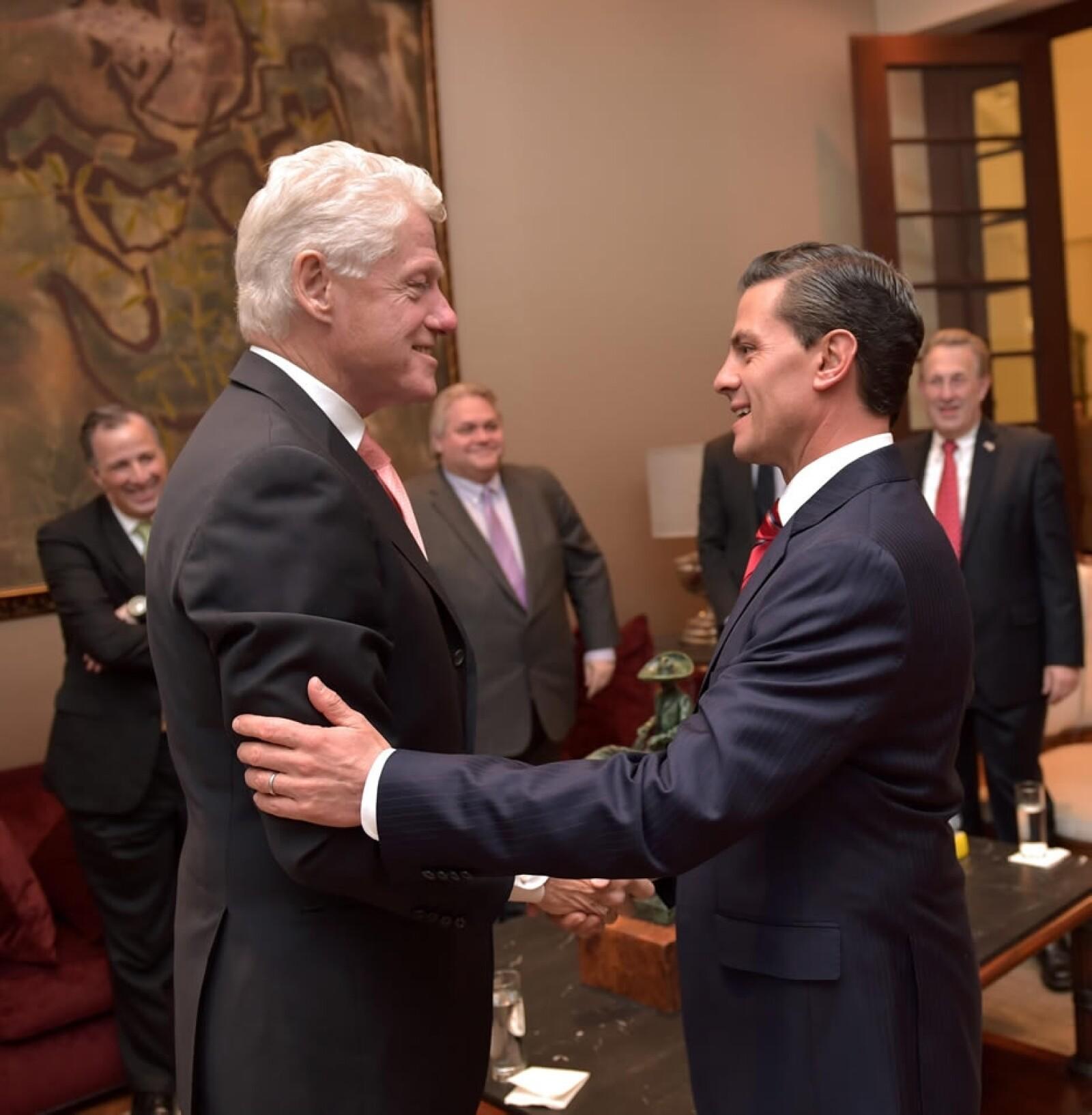 Clinton y Peña 4