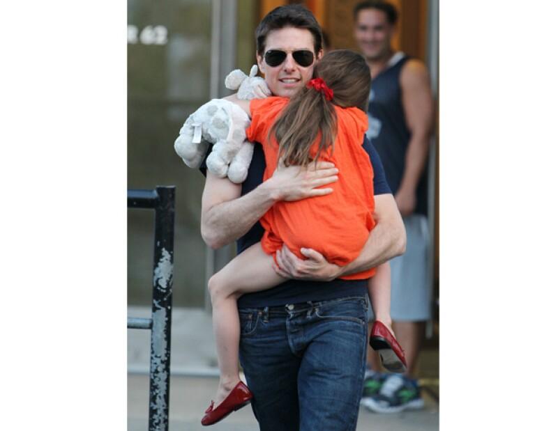 La distancia entre el actor y su hija no supone ningún impedimento, pues él le llama por teléfono un par de veces al día.