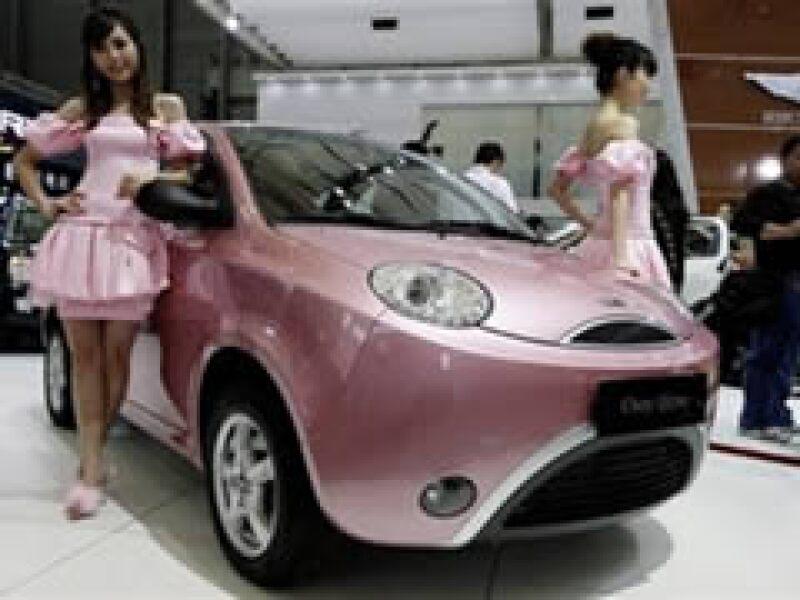 La feria del automóvil en China abrió sus puertas este 20 de abril. (Foto: AP)
