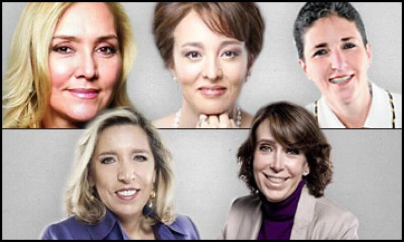 María Aramburuzabala, Nicole Reich, Louise Goeser, Gabriela Hernández, Angélica Fuentes y Carmina Abad ocuparon este 2011 las primeras posiciones del ranking. (Foto: Especial)