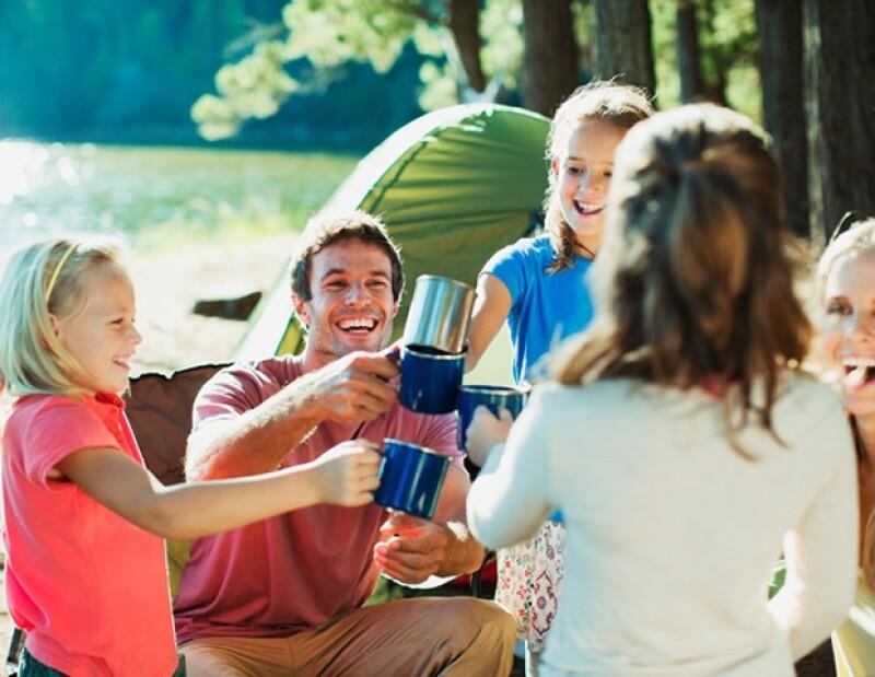Acampar es una gran opción para esta Semana Santa, ¡nada como convivir con la naturaleza!