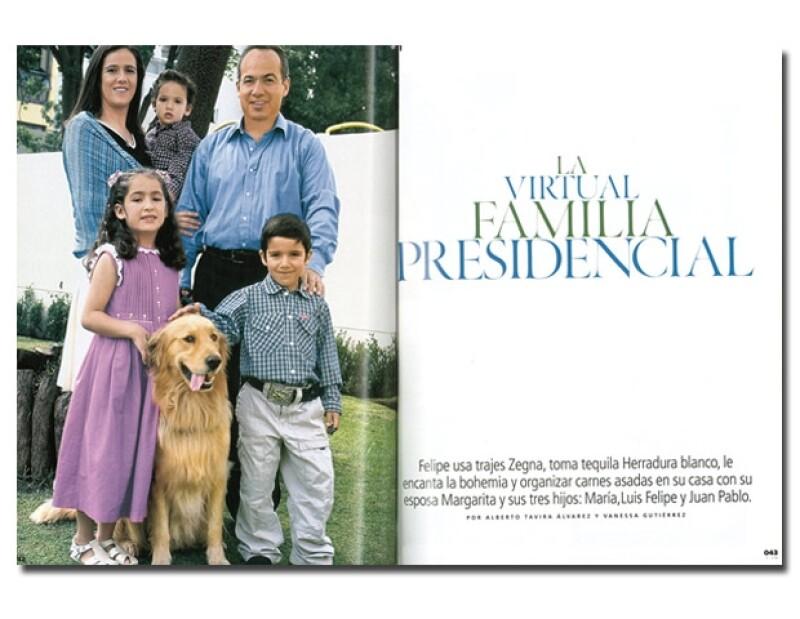 Las fotos de Felipe Calderón se publicaron en la revista Quién, edición 120 (Jul. 2006). Fotos: Fabien Tijou/Texto: Alberto Tavira y Vanessa Gutiérrez. (Retoque digital: Areli Sánchez)