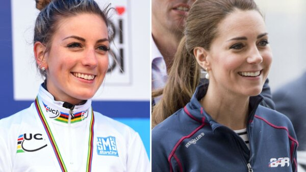 La ciclista francesa Pauline Ferrand-Prevot ha llamado la atención en los Juegos Olímpicos 2016 por su innegable parecido con la duquesa de Cambridge.