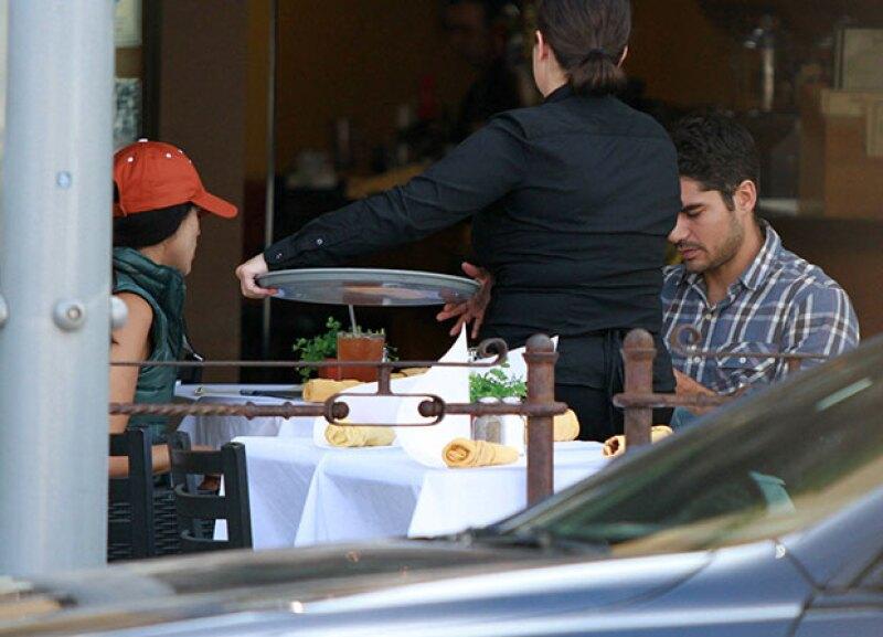 La pareja se tomo un time off para pasar tiempo juntos fuera del set.