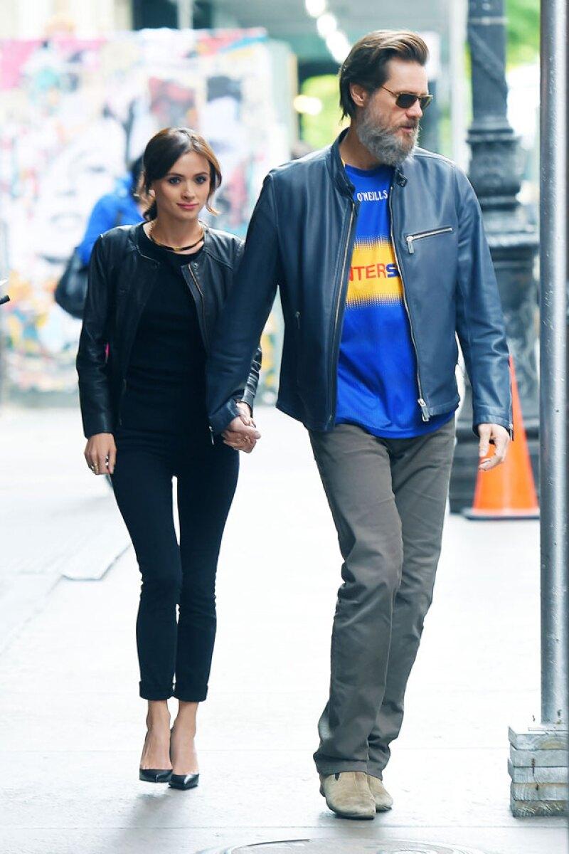 En mayo, fueron captados durante una visita en Nueva York.