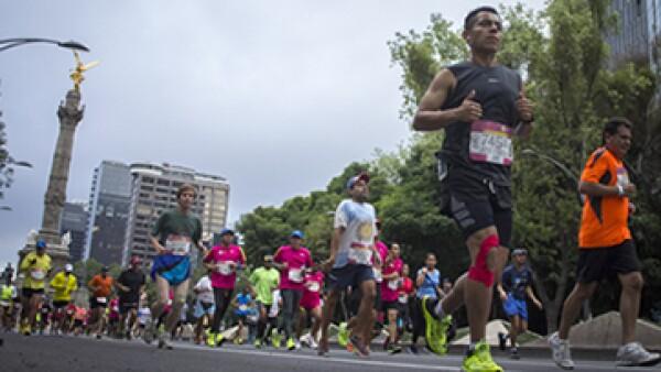 La Sectur del DF contempla una derrama económica de 109 mdp para esta edición del maratón. (Foto: Cuartoscuro)