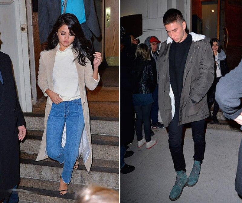 La semana pasada la cantante y su supuesto novio fueron captados en un night date, ahora en Nueva York, alimentando aún más los rumores de su supuesto romance.