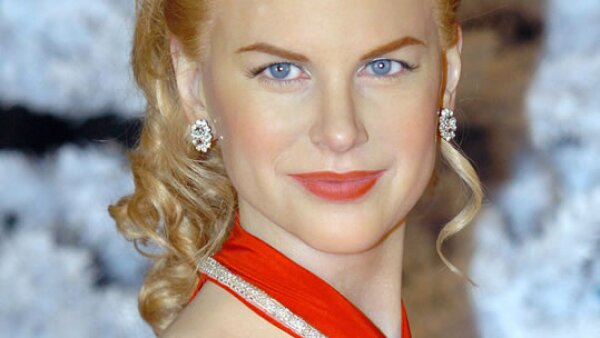 El parecido de Nicole Kidman es impactante, aunque el brillo excesivo delata que es de cera.