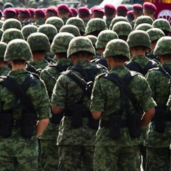 desfile militares