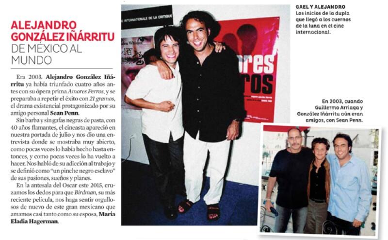 Alejandro González Iñárritu siempre ha estado en nuestras páginas.