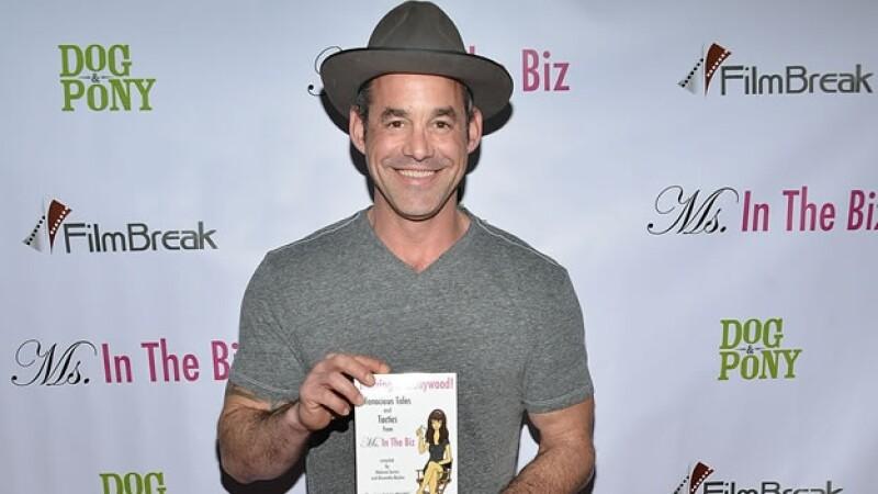 El actor Nicholas Brendon durante la presentación del libro ?Ms. In The Biz? en febrero pasado