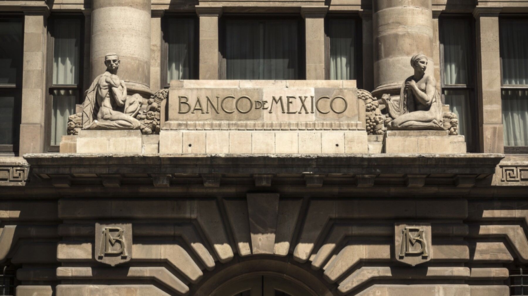 Bank Of Mexico In Mexico City