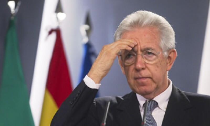 Las medidas de austeridad de Monti del año pasado sólo profundizaron la recesión italiana. (Foto: Reuters)
