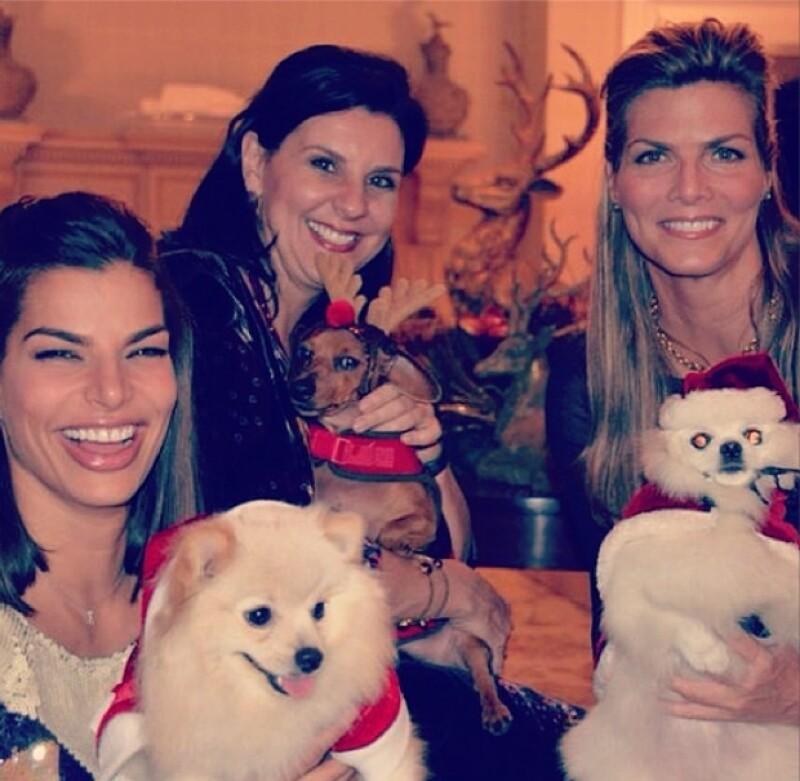 Esta Navidad, Montserrat lo pasó en compañía de sus familiares y amigos más cercanos.