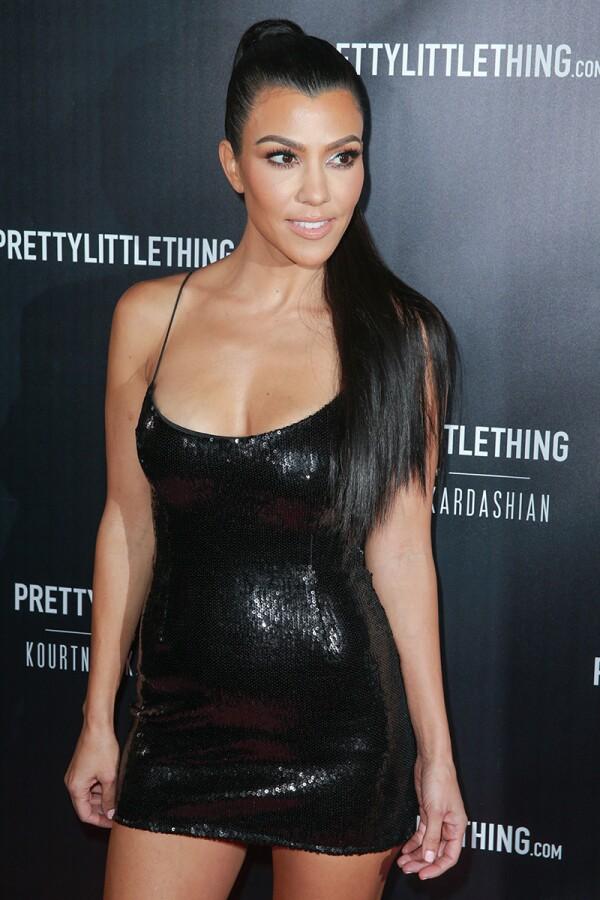 PrettyLittleThing By Kourtney Kardashian Launch - Arrivals