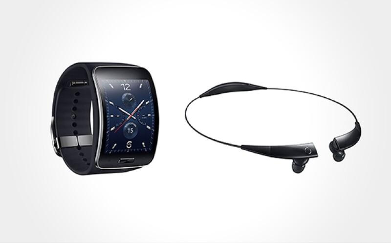 El collar de Samsung permitirá recibir llamadas.  (Foto: Cortesía de la marca)