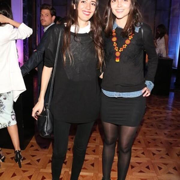 Giuliana Favaretto y Lola Ceñal