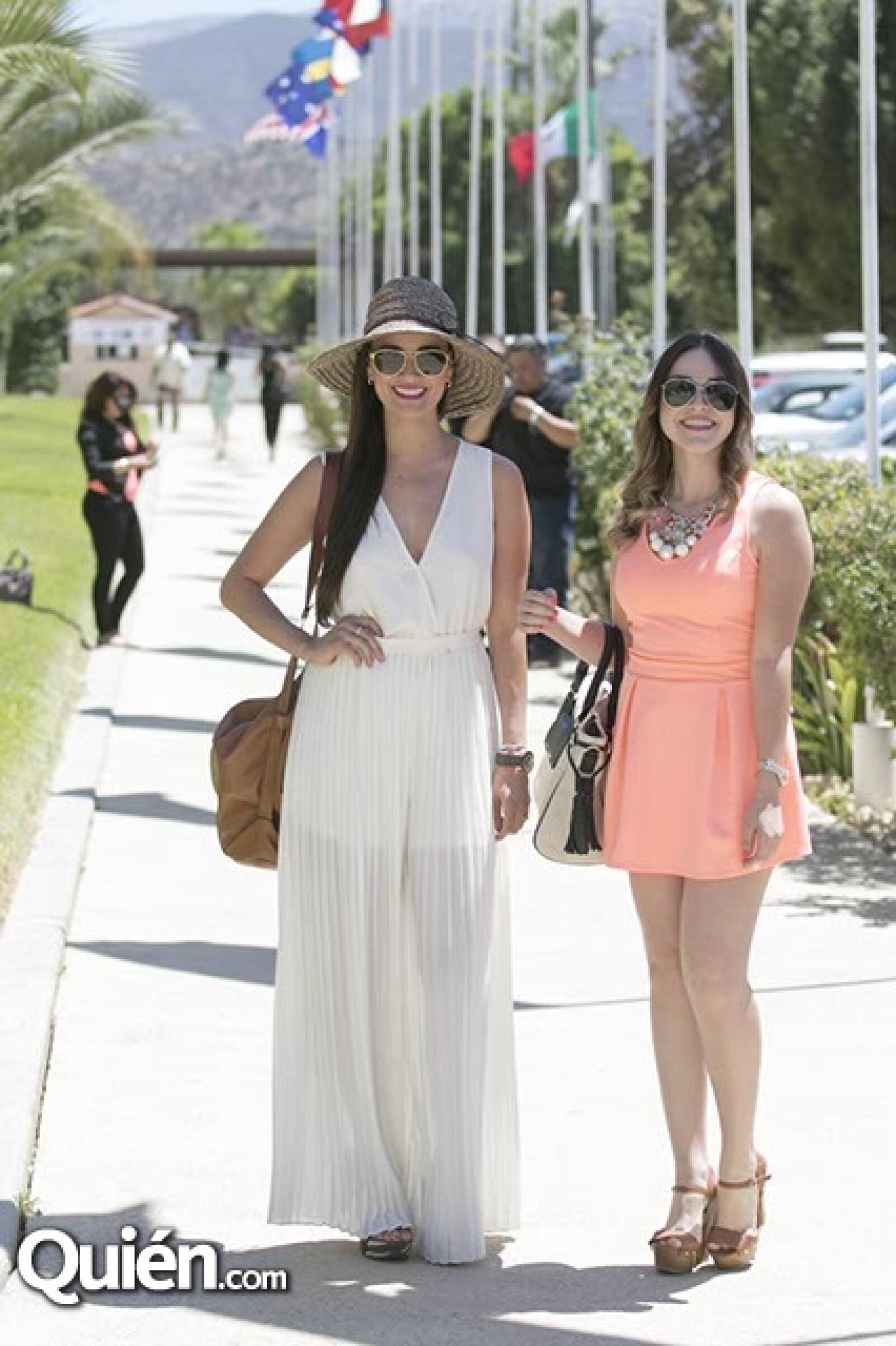 Hilda Domínguez y Giovanna Fimbres