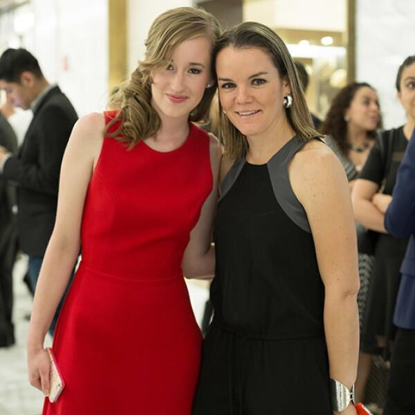 Andrea Estandía y Katy Díaz