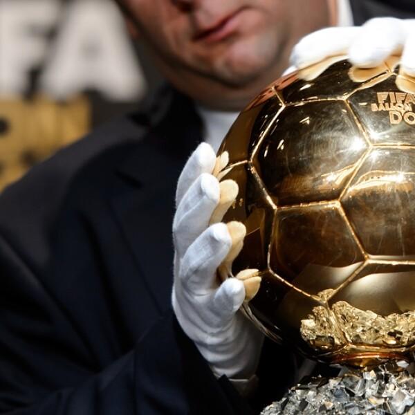 Balón de Oro trofeo