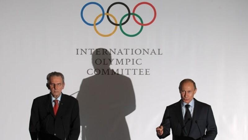anuncio sobre los juegos olimpicos de invierno