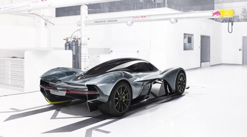 El Aston Martin AM-RB 001