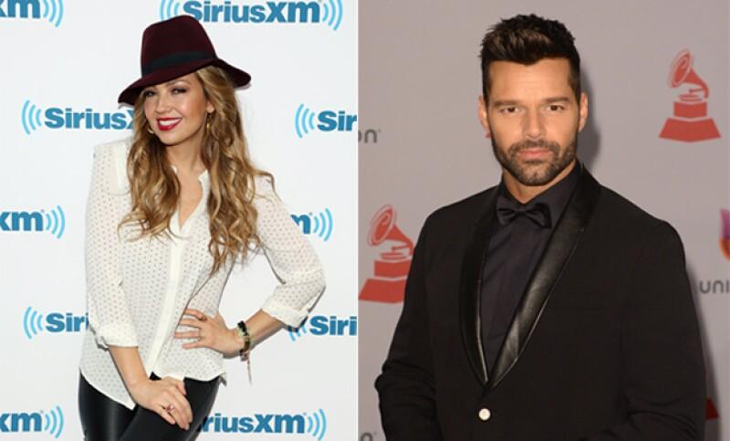 """La cantante mexicana Thalía y el puertorriqueño Ricky Martin encabezan el talento del doblaje para Latinoamérica de la cinta """"Minions"""", cuyo nuevo tráiler fue presentado este martes."""