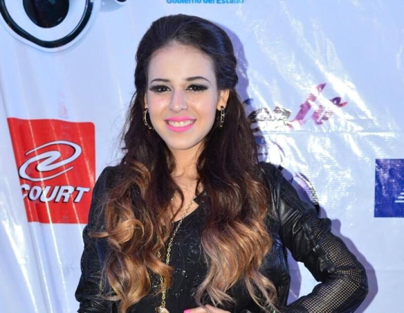 La cantante se presentó en el concierto EXA.
